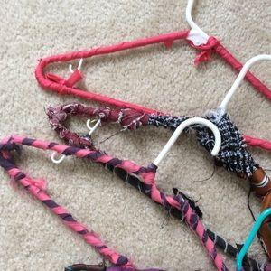 12 Upcycled Hangers One Dozen